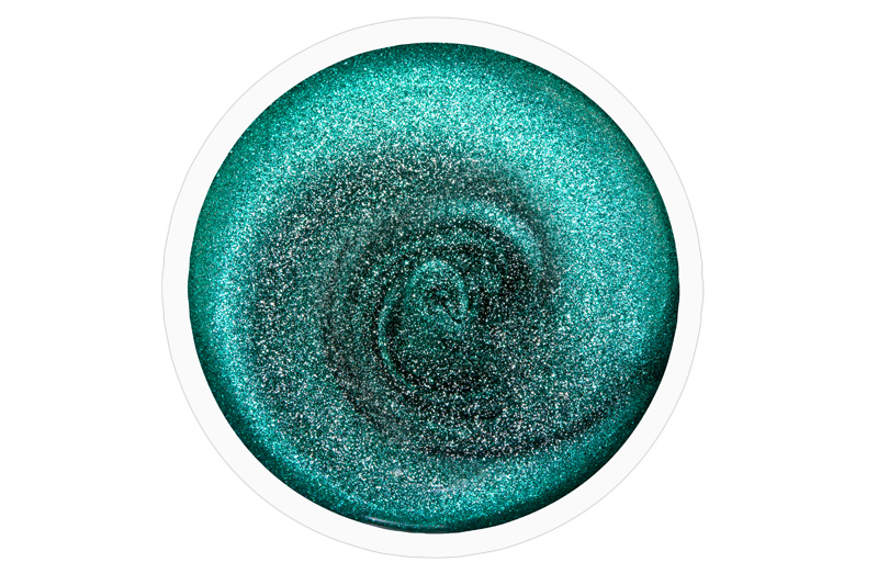 jolifin carbon colors uv nagellack smaragd glimmer 14ml pretty nail shop 24. Black Bedroom Furniture Sets. Home Design Ideas