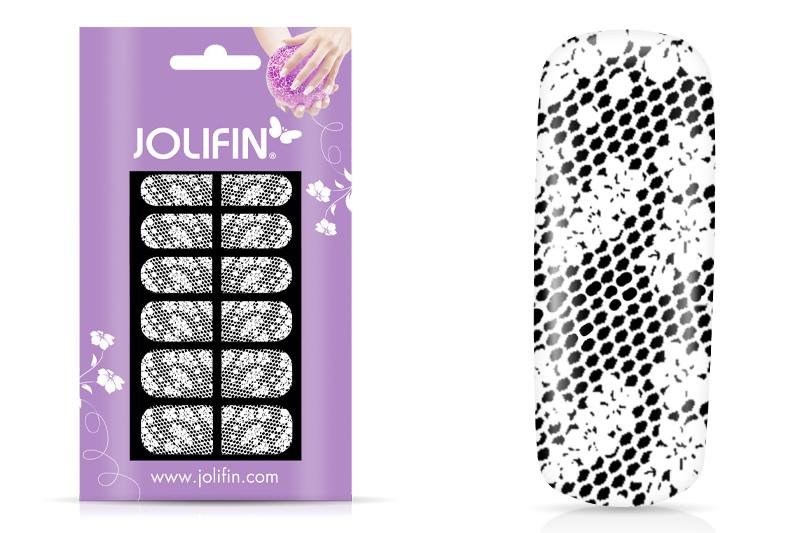 Jolifin Fullcover Nailartsticker 1