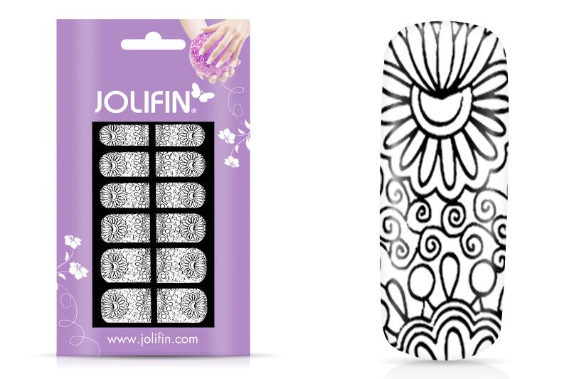 Jolifin Fullcover Nailartsticker 3