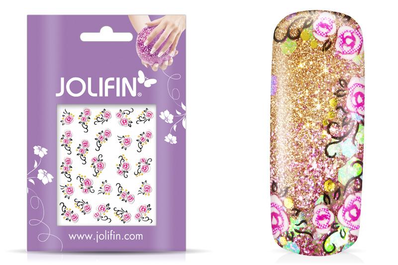 Jolifin Blossom Nailart Sticker 10
