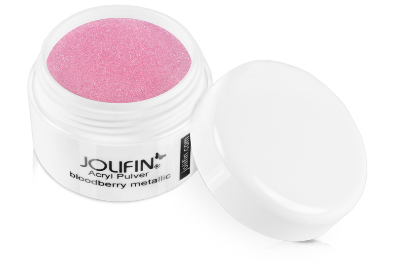 Jolifin Acryl Farbpulver bloodberry metallic 5g