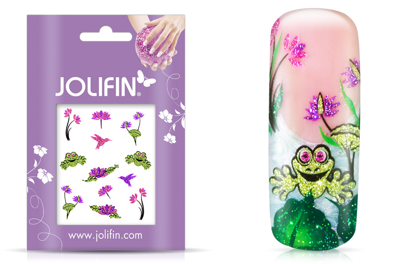 Jolifin Glitter Nailart Sticker 32