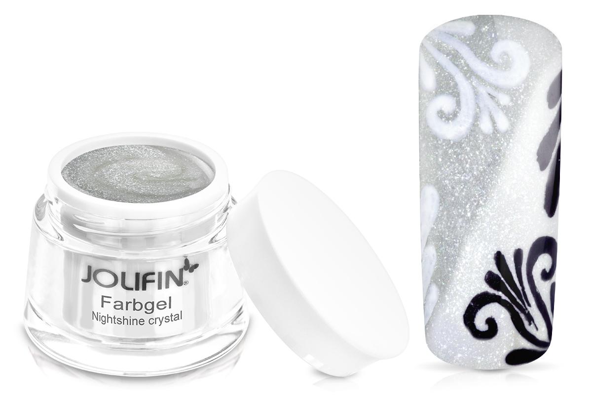 Jolifin Farbgel Nightshine crystal 5ml