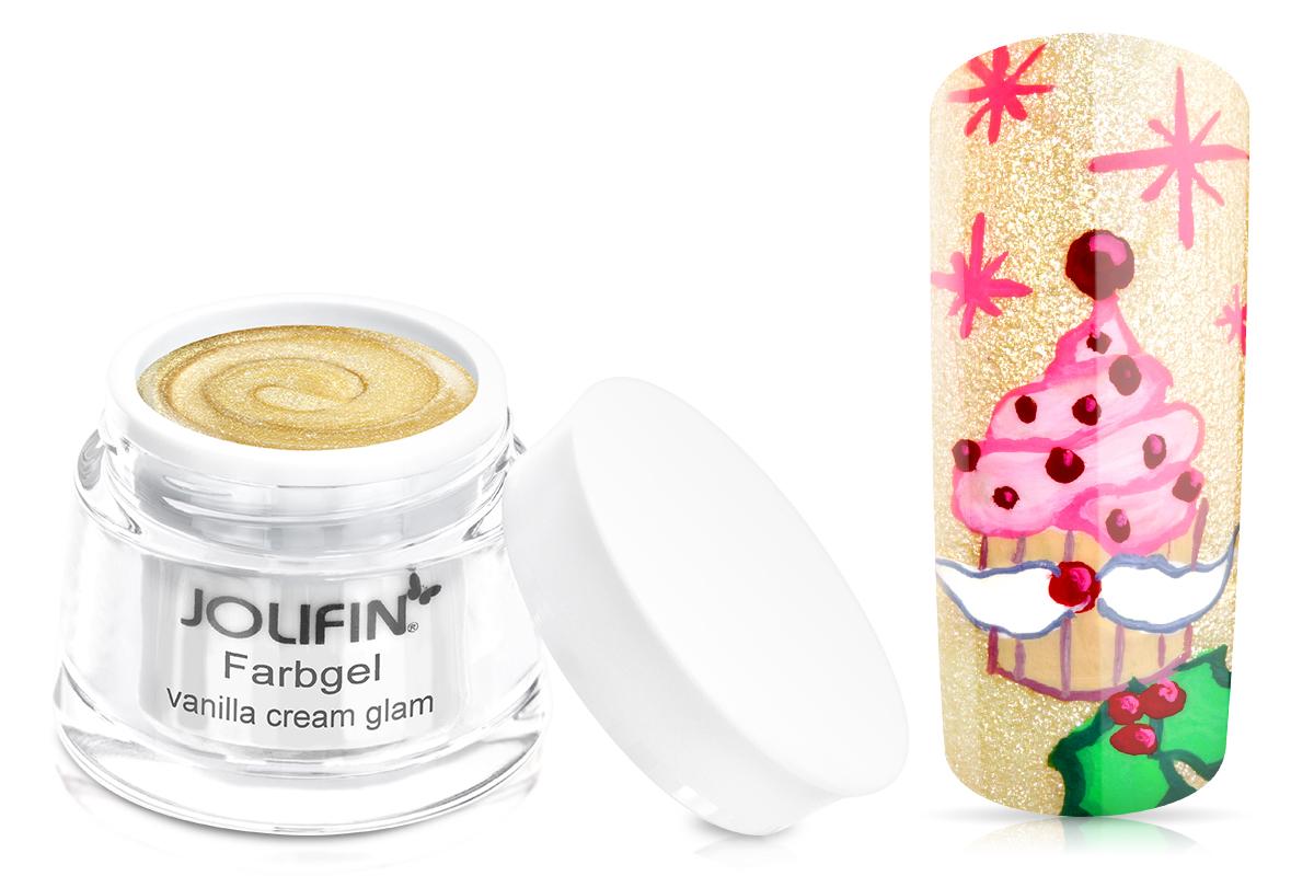 Jolifin Farbgel vanilla cream glam 5ml