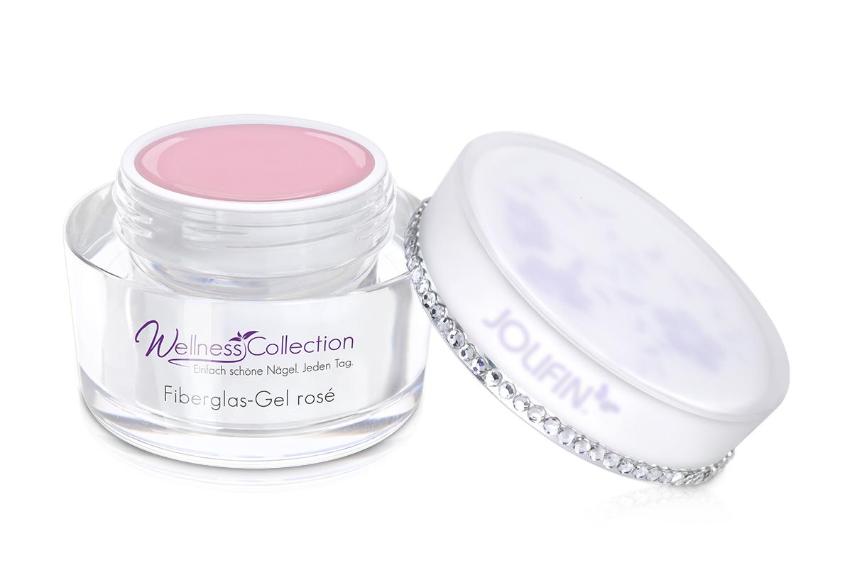 Jolifin Wellness Collection - Fiberglas-Gel rosé 15ml