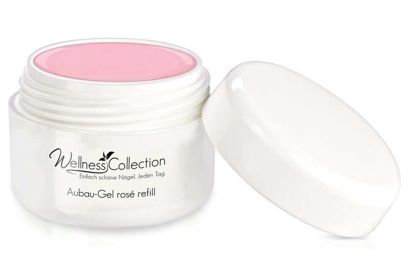 Jolifin Wellness Collection Refill - Aufbau-Gel rosé 15ml
