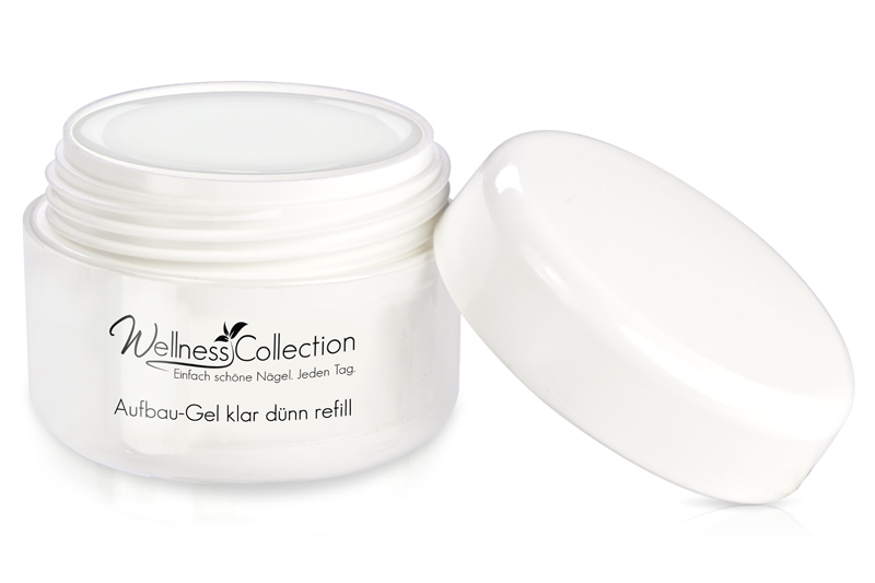 Jolifin Wellness Collection Refill - Aufbau-Gel klar dünn 5ml