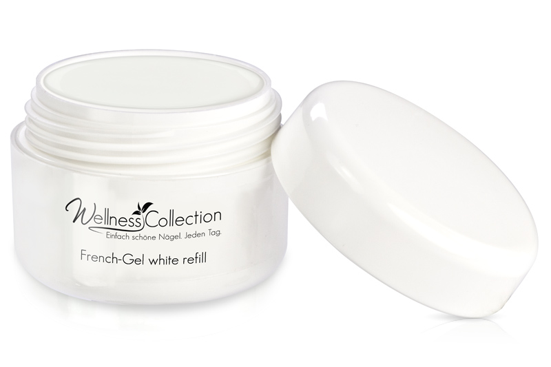 Jolifin Wellness Collection French-Gel white 15ml - Refill
