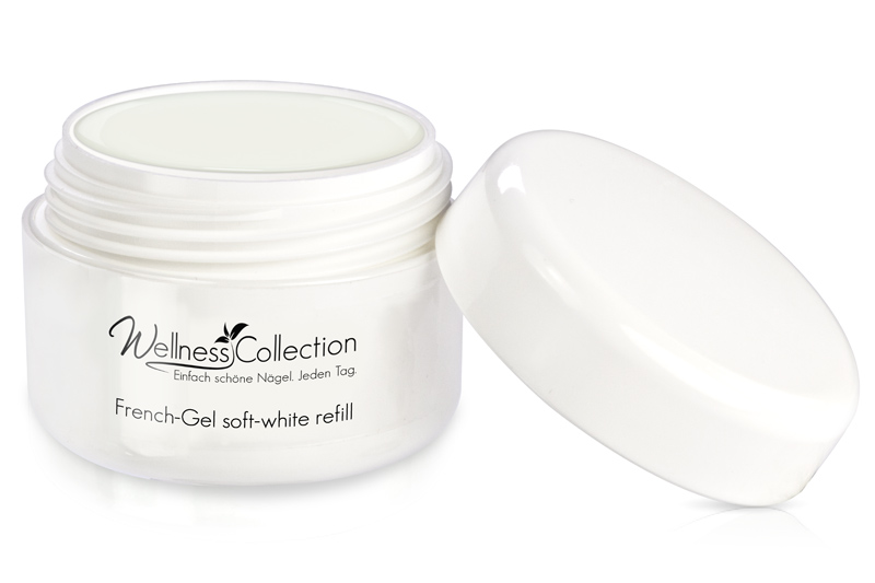 Jolifin Wellness Collection Refill - French-Gel soft-white 15ml