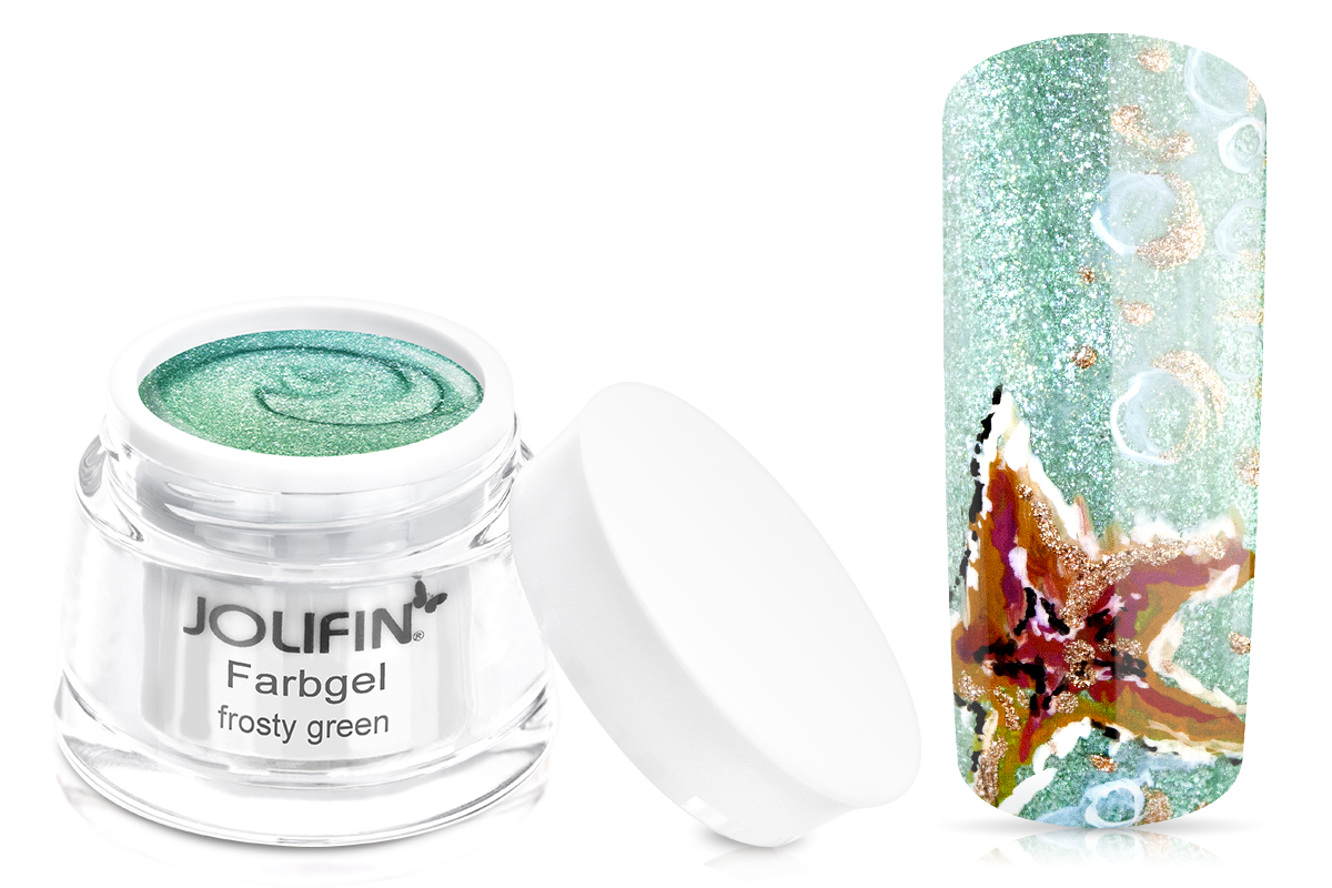 Jolifin Farbgel Frosty Green 5ml