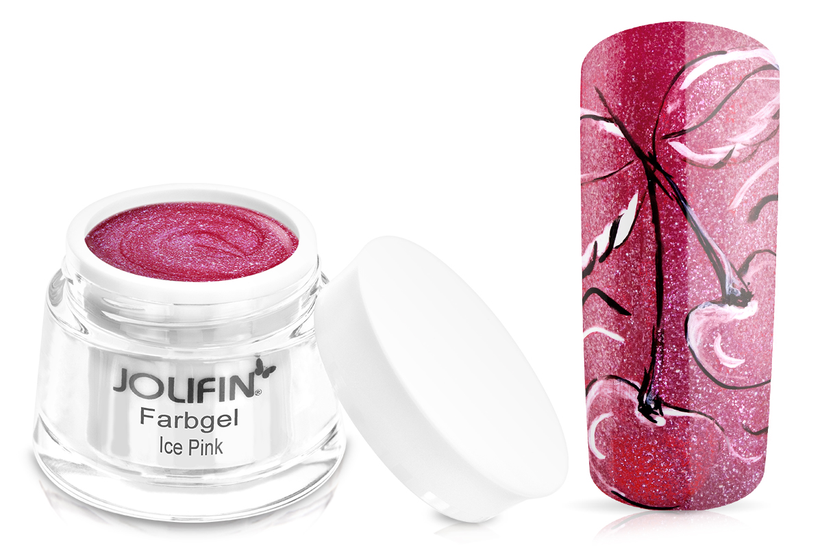 Jolifin Farbgel Ice Pink 5ml