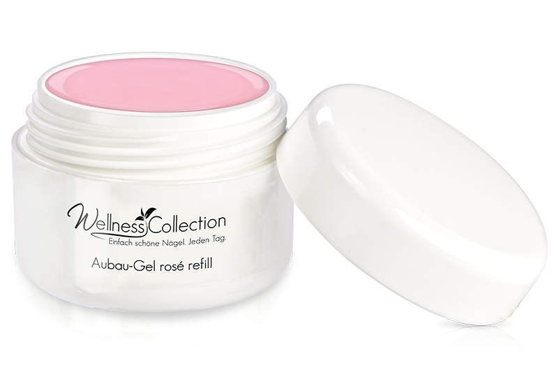 Aufbau-Gel rosè 30ml - Jolifin Wellness Collection - Refill