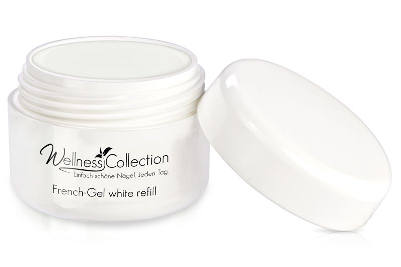 French-Gel white 30ml - Jolifin Wellness Collection - Refill