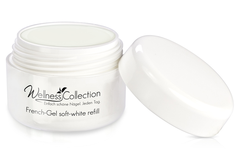 French-Gel soft white 30ml - Jolifin Wellness Collection - Refill