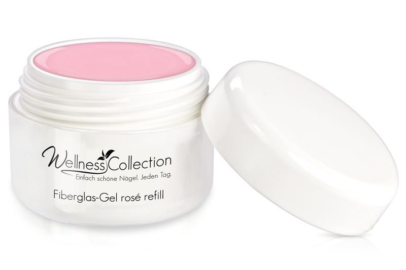 Fiberglas-Gel rosè 30ml - Jolifin Wellness Collection - Refill