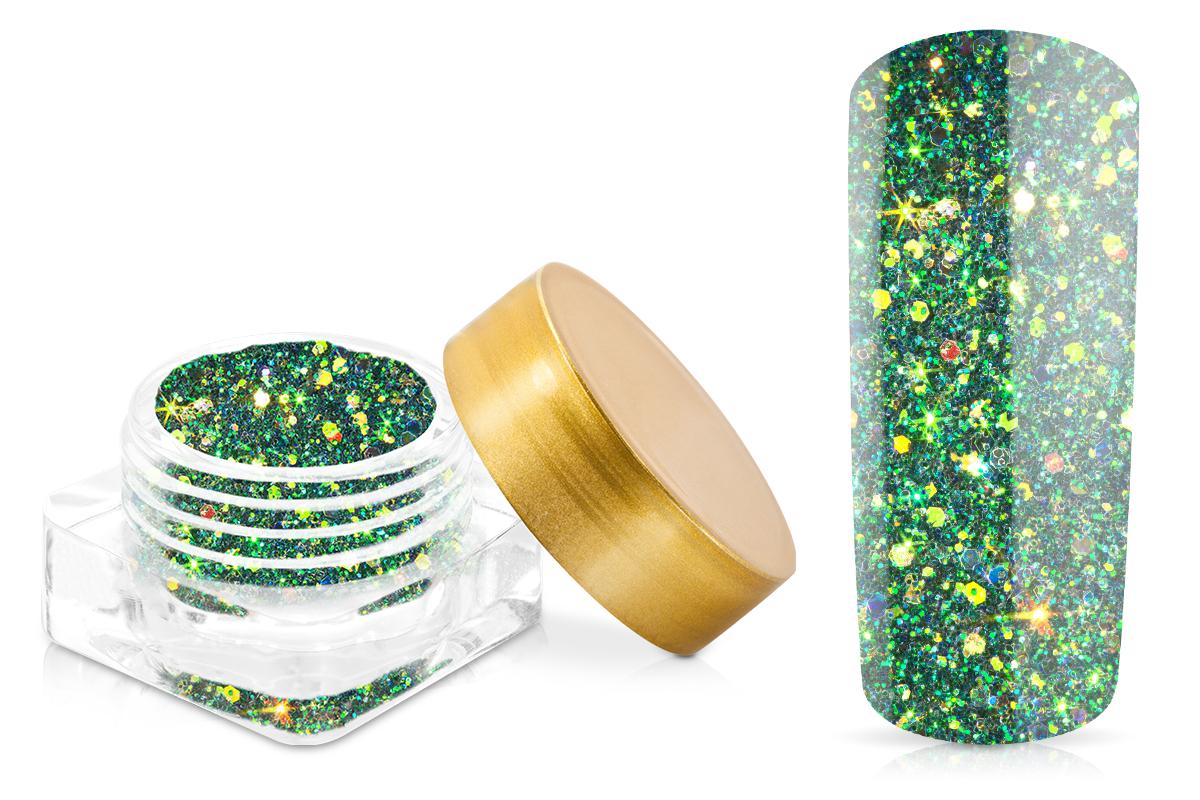 Jolifin Illusion Glitter I Smaragd