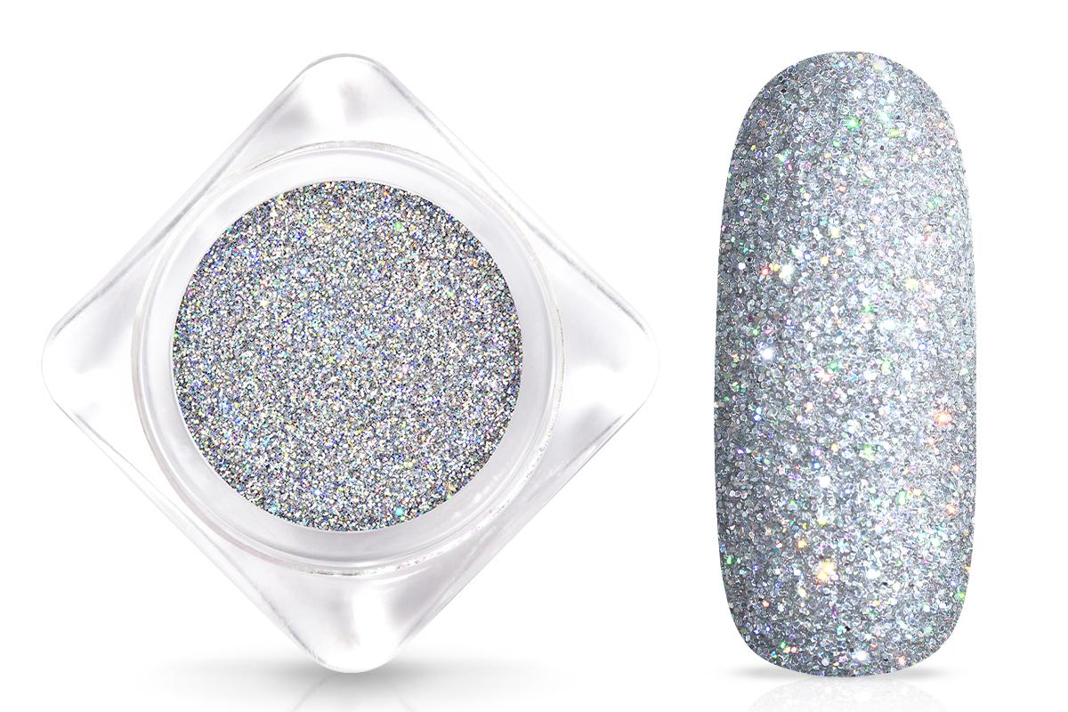 Jolifin Laser Glitter silver
