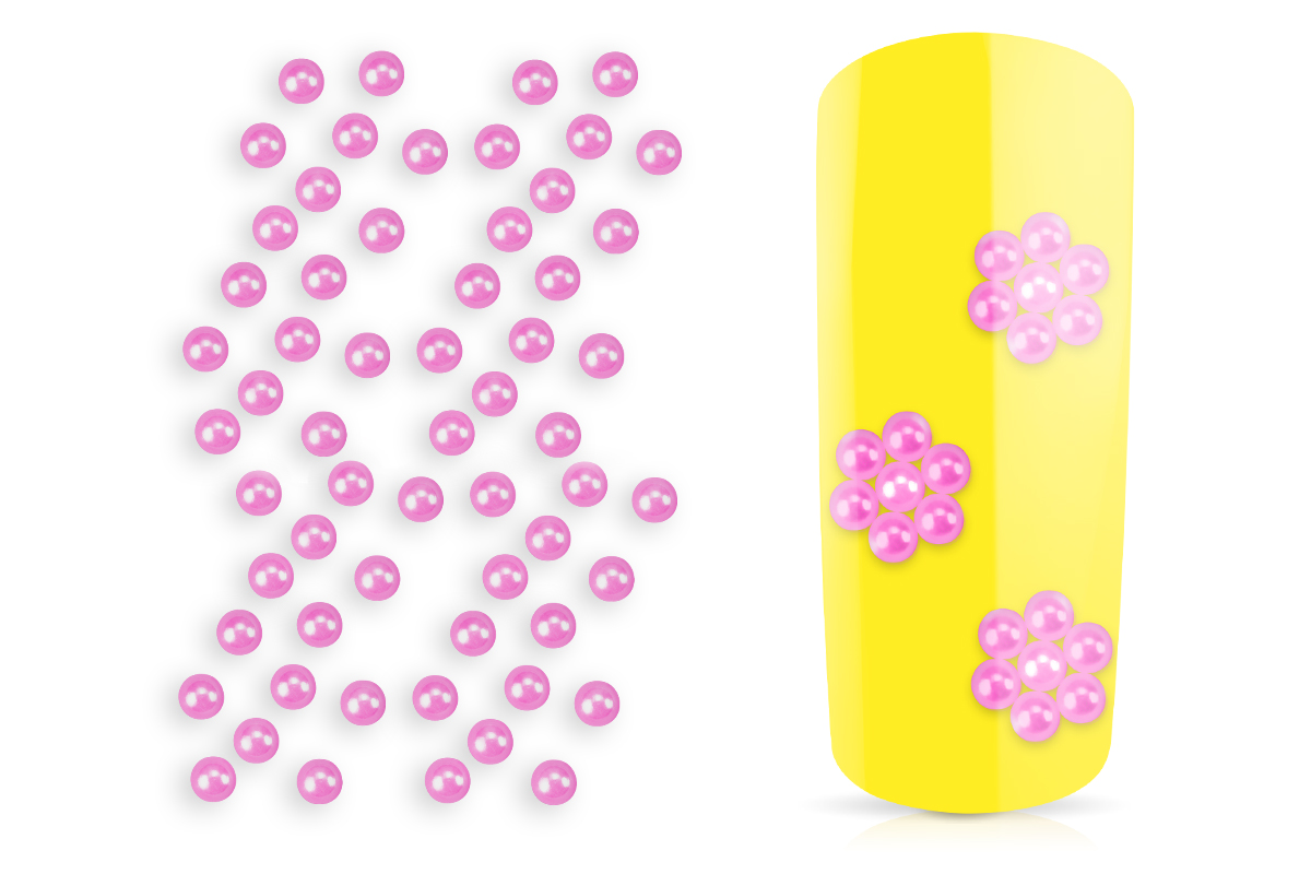 Jolifin Nailart Pearls pink