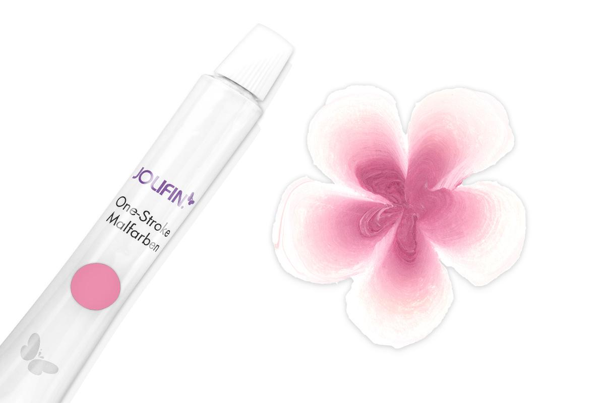 Jolifin One-Stroke Malfarbe pink 10ml