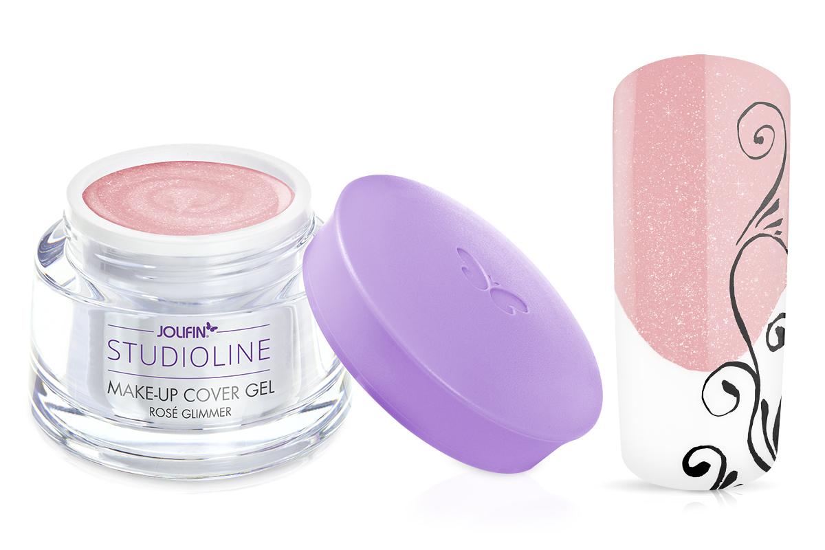 Jolifin Studioline - Make-Up Gel rosé Glimmer 15ml