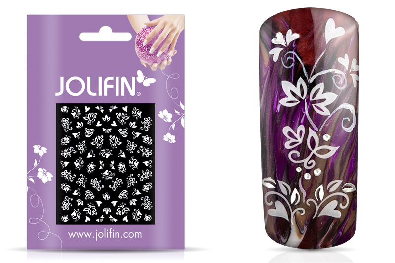 Jolifin White Romance Sticker 1