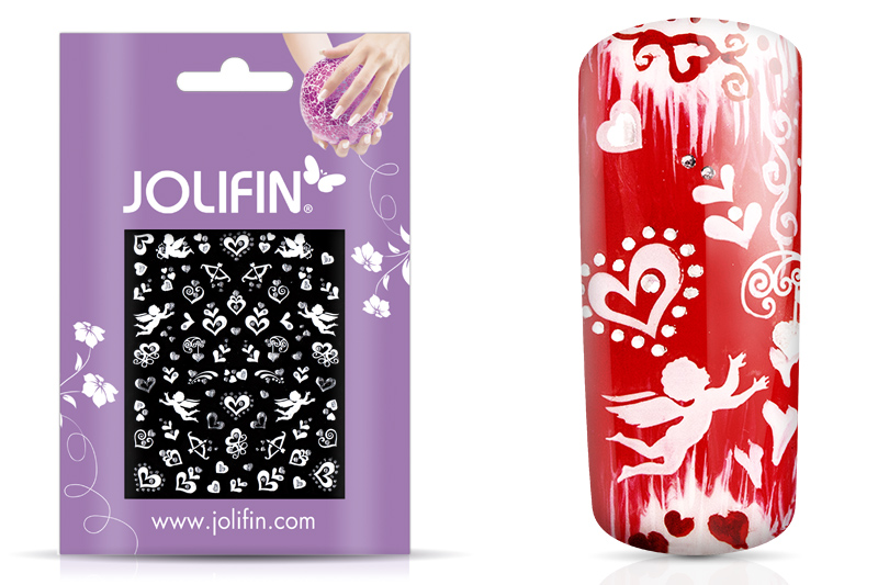 Jolifin White Romance Sticker 3