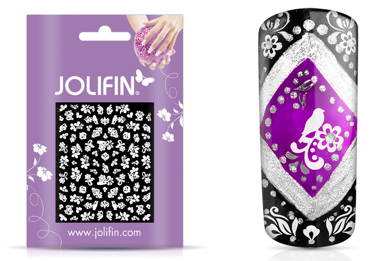Jolifin White Romance Sticker 9