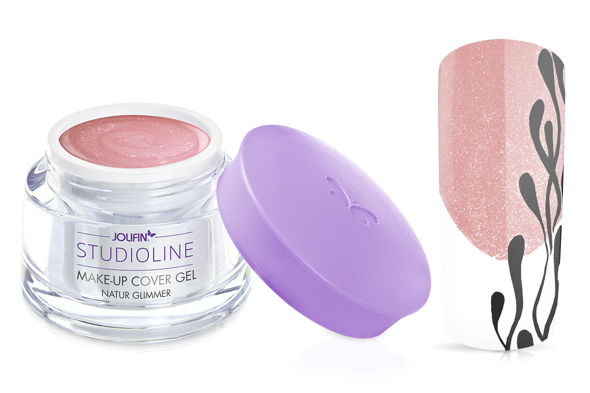 Jolifin Studioline Make-Up Gel natur Glimmer 15ml