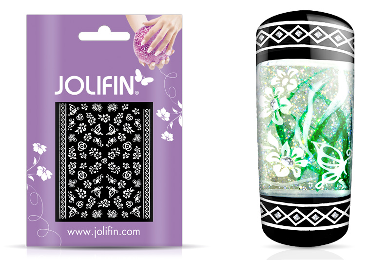 Jolifin White Romance Sticker 38