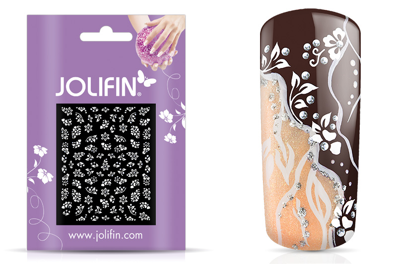 Jolifin White Romance Sticker 14