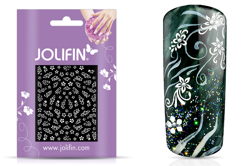 Jolifin White Romance Sticker 16