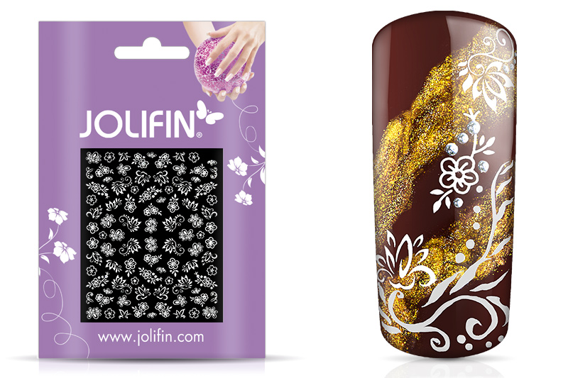 Jolifin White Romance Sticker 21