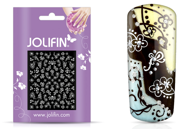 Jolifin White Romance Sticker 22