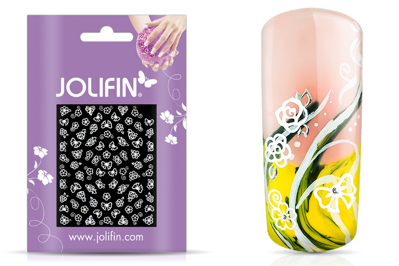 Jolifin White Romance Sticker 25
