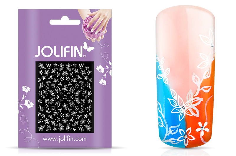 Jolifin White Romance Sticker 30