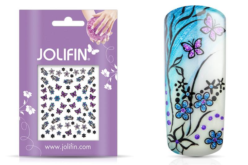 Jolifin Glitter Nailart Sticker 34
