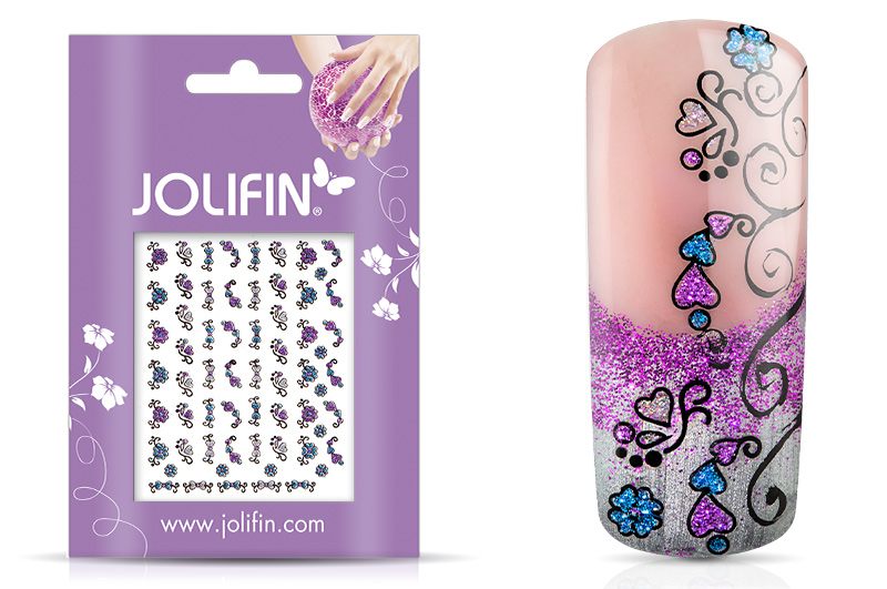 Jolifin Glitter Nailart Sticker 35
