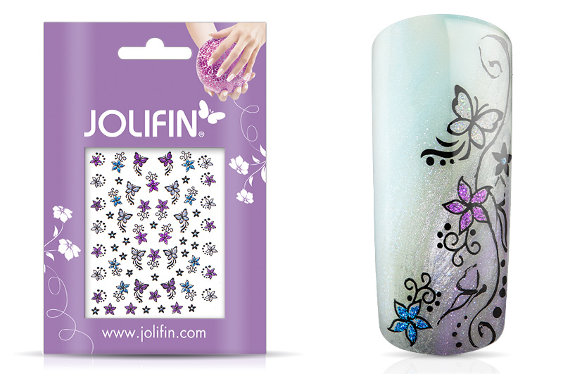 Jolifin Glitter Nailart Sticker 44