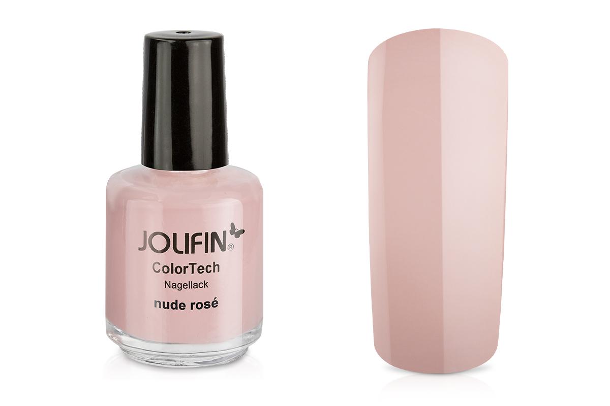 Jolifin ColorTech Nagellack nude rosé 14ml