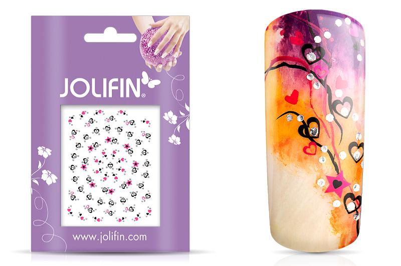 Jolifin Nailart Twinkle Sticker Nr. 2