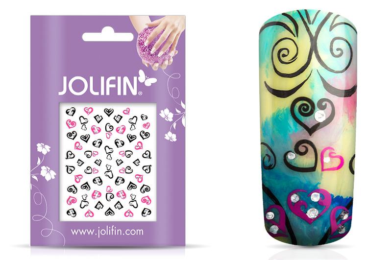 Jolifin Nailart Twinkle Sticker Nr. 9