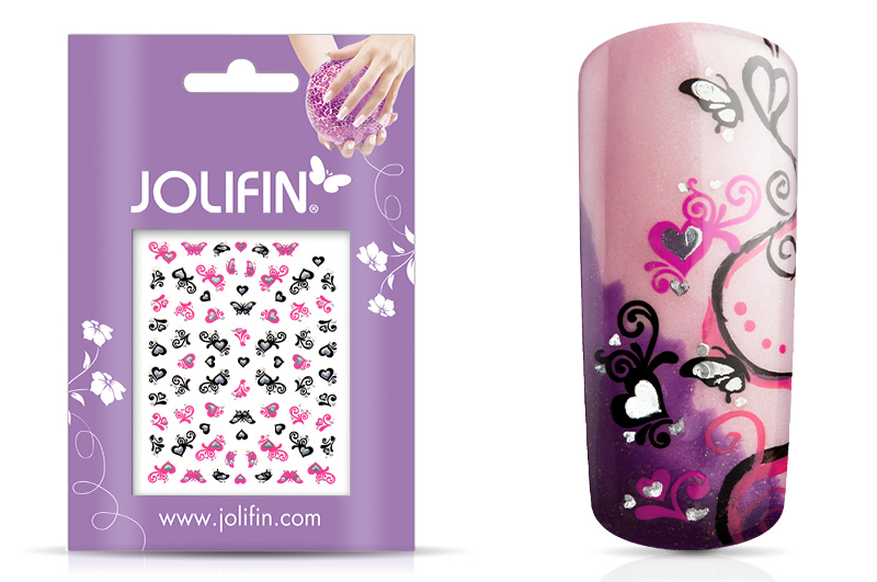 Jolifin Nailart Twinkle Sticker Nr. 12