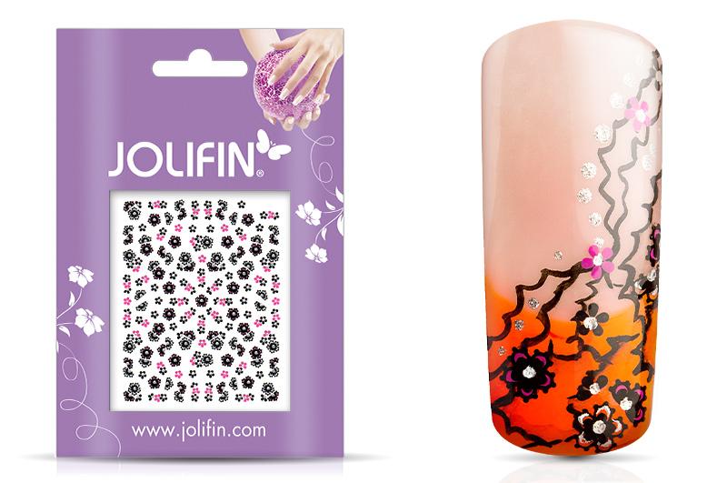 Jolifin Nailart Twinkle Sticker Nr. 17