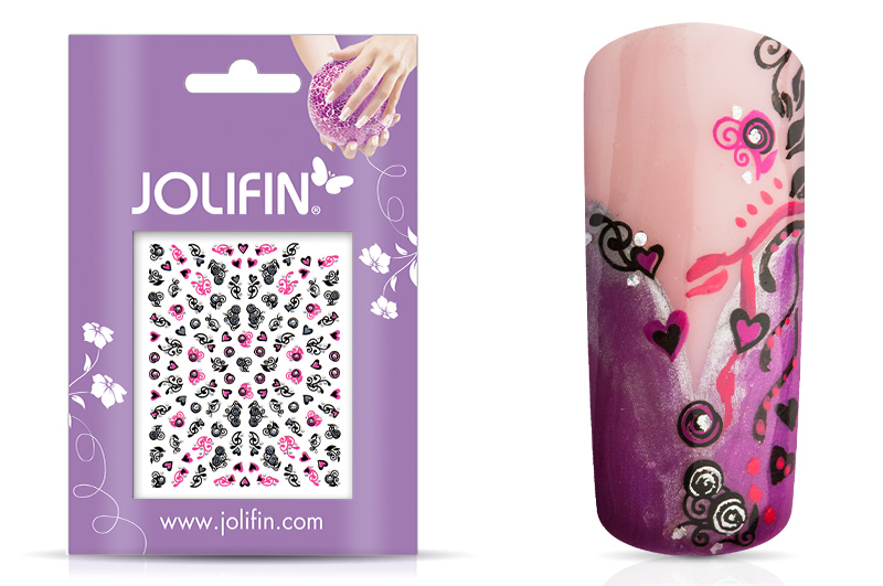 Jolifin Nailart Twinkle Sticker Nr. 18