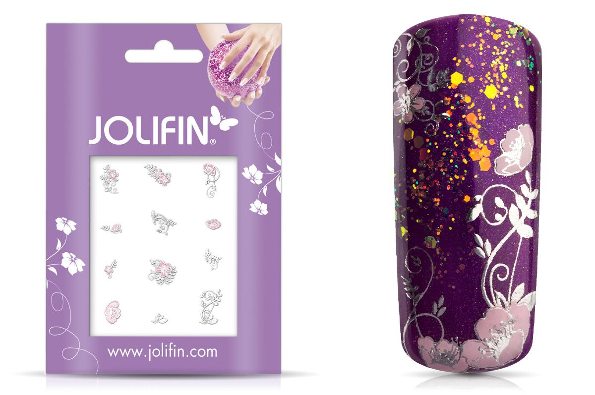 Jolifin Silver Glam Sticker 7