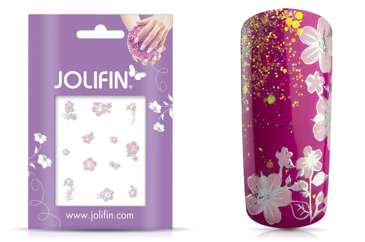 Jolifin Silver Glam Sticker 8