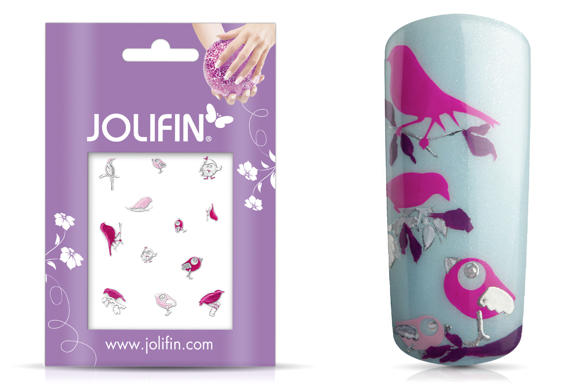 Jolifin Silver Glam Sticker 11