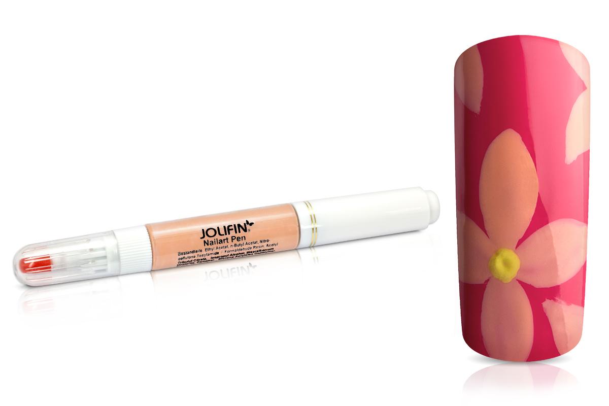 Jolifin Nail-Art Pen pastell peach 10ml