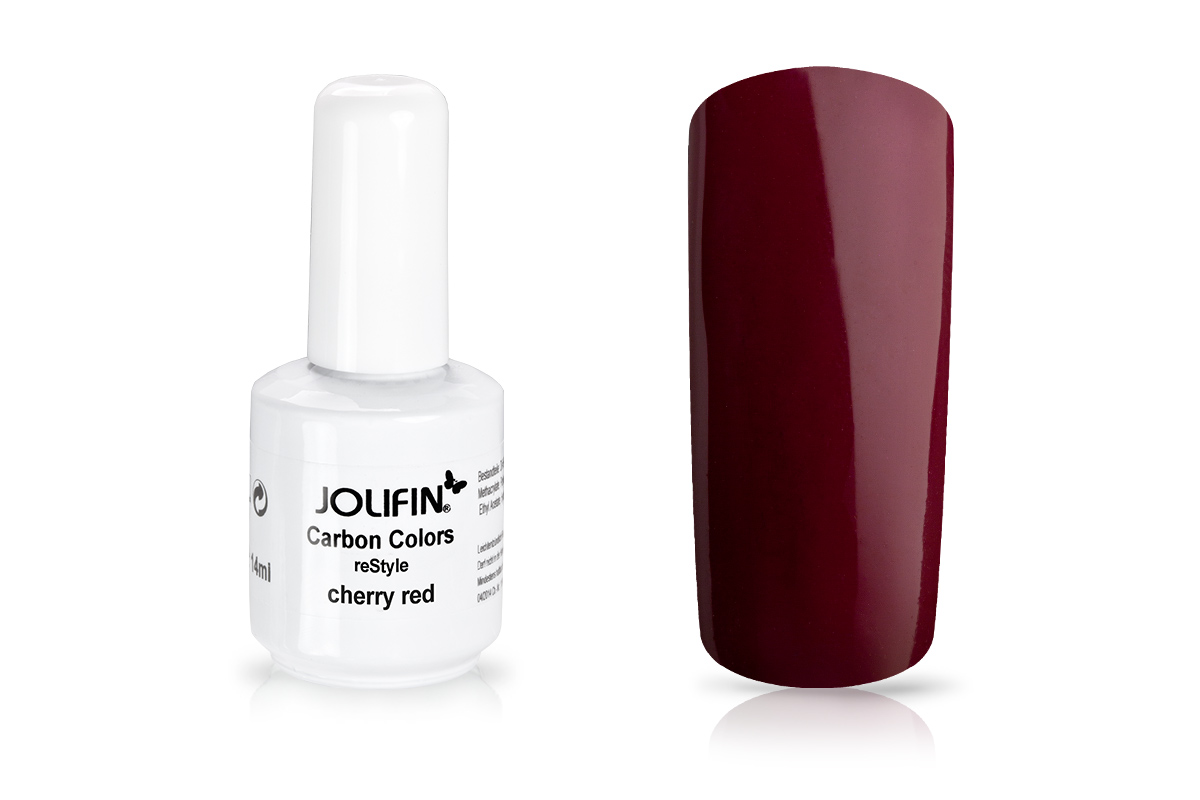 Jolifin Carbon reStyle - cherry red 11ml
