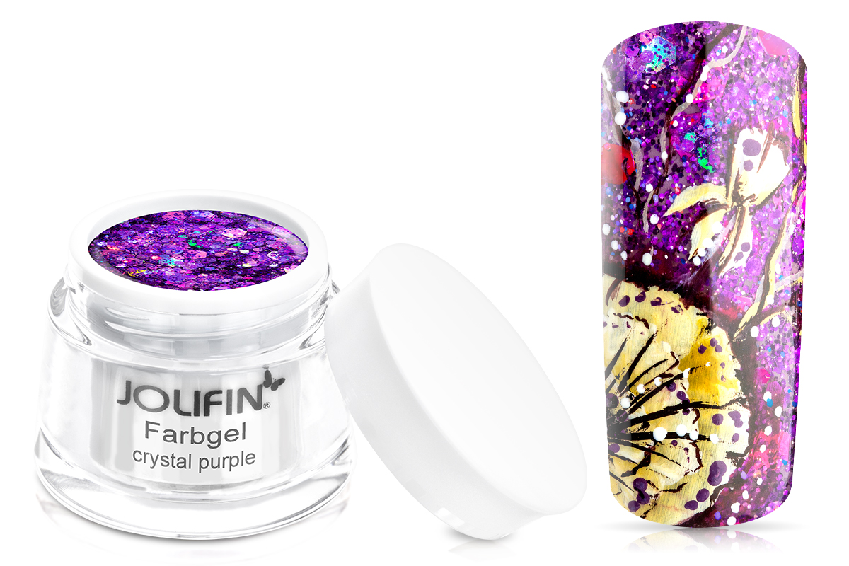 Jolifin Farbgel crystal purple 5ml